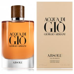 Acqua di Gio Absolu perfume para hombre de Giorgio Armani