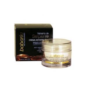 Crema facial reafirmante, hidratante y antiarrugas de día con veneno de serpiente SPF15 de Babaria