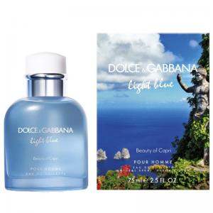 Light Blue Men Beauty of Capri perfume para hombre de Dolce & Gabbana