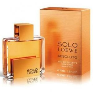 Solo Loewe Absoluto perfume para hombre de Loewe