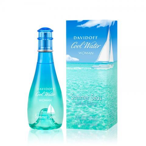 cool water woman summer seas de davidoff precio y